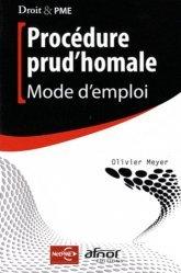 Dernières parutions dans Droit & PME, Procédure prud'homale. Mode d'emploi