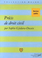 Dernières parutions dans Major, Précis de droit civil. Service public