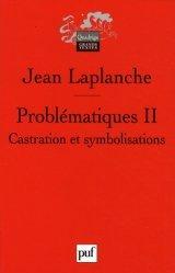 Dernières parutions dans Quadrige. Grands textes, Problématiques. Tome 2, Castration, symbolisations