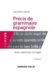 Dernières parutions dans Cursus, Précis de grammaire espagnole