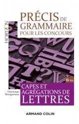 Dernières parutions dans Horizon, Précis de grammaire pour les concours - 6e éd.