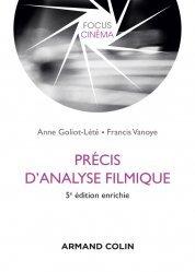 Dernières parutions sur Cinéma, Précis d'analyse filmique - 5e éd.