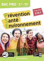 Dernières parutions dans Bac pro PSE, Prévention santé environnement (PSE) 1re, Tle Bac pro 2020 - Pochette elève