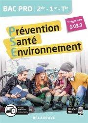 Dernières parutions dans BAC PRO PSE, Prévention santé environnement (PSE) 2de, 1re, Tle Bac pro 2020 - Pochette élé