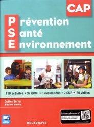 Dernières parutions sur CAP et Bac PSE, Prévention Santé Environnement (PSE) CAP (2017) - Pochette élève
