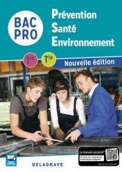 Dernières parutions dans Bac pro PSE, Prévention Santé Environnement (PSE) 1re, Tle Bacs Pros industriels (2017) - Pochette élève