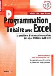 Souvent acheté avec De la programmation linéaire à la programmation par contraintes, le Programmation linéaire avec Excel
