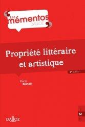 Dernières parutions dans Mémentos Dalloz. Série Droit Privé, Propriété littéraire et artistique. 3e édition