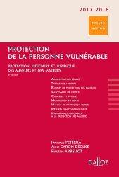 Dernières parutions dans Dalloz Action, Protection de la personne vulnérable
