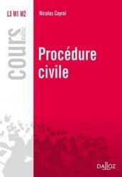Nouvelle édition Procédure civile