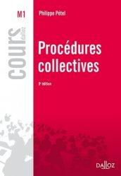 Dernières parutions dans Cours Dalloz, Procédures collectives. 9e édition