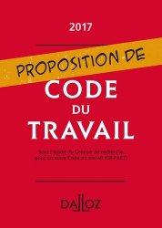 Dernières parutions sur Code du travail, Proposition de Code du travail