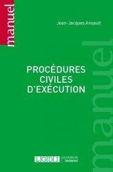 Dernières parutions dans Manuels, procédures civiles d'exécution