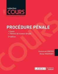 Dernières parutions dans Cours, Procédure pénale. 2e édition