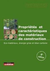 Dernières parutions sur Matériaux, Propriétés et caractéristiques des matériaux de construction