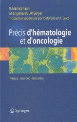 Dernières parutions sur Pathologie, Précis d'hématologie et d'oncologie