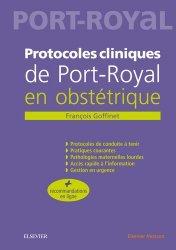 Souvent acheté avec Le cerveau foetal normal et pathologique, le Protocoles cliniques de Port-royal en obstétrique