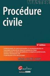 Dernières parutions dans Master, Procédure civile. 6e édition