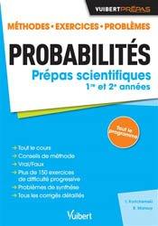 Dernières parutions sur 2ème année, Probabilités - Classes préparatoires scientifiques.