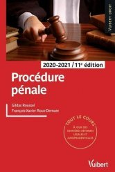 Dernières parutions sur Procédure pénale, Procédure pénale