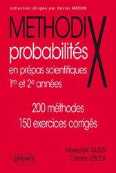 Dernières parutions dans Méthodix, Probabilités