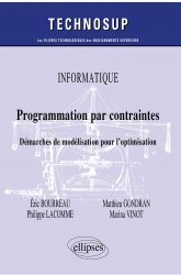 Dernières parutions dans Technosup, Programmation par contraintes