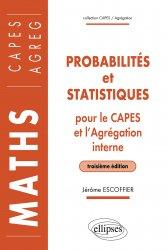 Dernières parutions sur Probabilités, Probabilités et statistiques pour le CAPES externe et l'Agrégation interne de Mathématiques