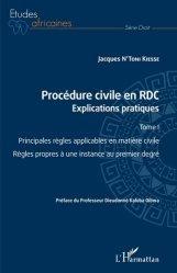 Dernières parutions dans Etudes africaines. Droit, Procédure civile en RDC