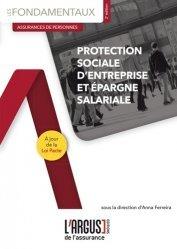 Dernières parutions dans Les fondamentaux de l'assurance, Protection sociale d'entreprise et épargne salariale. 2e édition