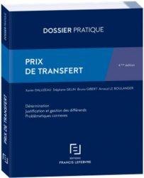 Dernières parutions sur Droit fiscal international, Prix de transfert