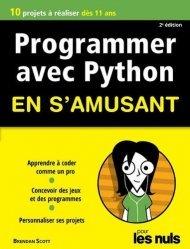 Dernières parutions sur Techniques de programmation, Programmer en s'amusant avec Python. 3e édition