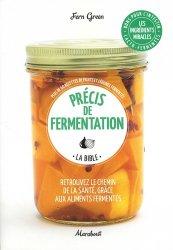 Dernières parutions sur Conserves et stérilisation, Précis de fermentation
