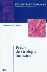 Dernières parutions dans Biosciences et techniques, Précis de virologie humaine