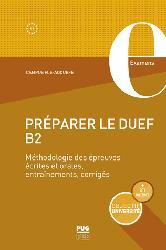 Dernières parutions sur Examens, Préparer le DUEF B2