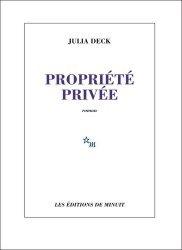 Dernières parutions sur Fiction, Propriété privée