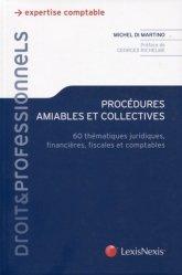 Dernières parutions dans Droit & Professionnels, Procédures amiables et collectives. 60 thématiques juridiques, financières, fiscales et comptables