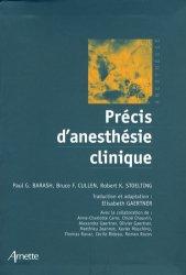 Dernières parutions dans Anesthésie, Précis d'anesthésie clinique