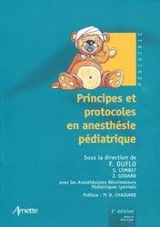 Souvent acheté avec Protocoles d'anesthésie-réanimation obstétricale, le Principes et protocoles en anesthésie pédiatrique