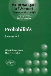 Dernières parutions dans Mathématiques à l'Université, Probabilités