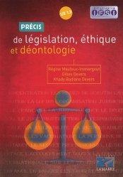 Souvent acheté avec Précis de chronicité et soins dans la durée, le Précis de législation, éthique et déontologie UE 1.3