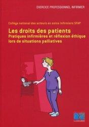 Dernières parutions dans Exercice professionnel infirmier, Pratiques infirmières et droits des patients en situations palliatives