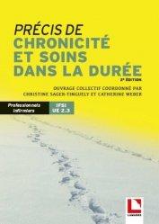Nouvelle édition Précis de chronicité et soins dans la durée / UE 2.3