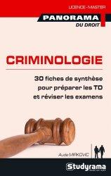 Dernières parutions dans Panorama du droit, Pratiques de la criminologie