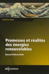 Dernières parutions dans InterSections, Promesses et réalités des énergies renouvelables