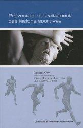 Dernières parutions sur Traumatologie, Prévention et traitement des lésions sportives