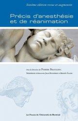 Dernières parutions sur Anesthésie - Réanimation, Précis d'anesthésie et de réanimation