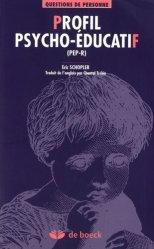Dernières parutions dans Questions de personne, Profil psycho-éducatif (PEP-R)