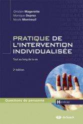 Dernières parutions dans Questions de personne, Pratique de l'intervention individualisée