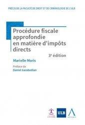 Dernières parutions sur Fiscalité d'entreprise, Procédure fiscale approfondie. 3e édition