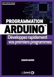 Dernières parutions sur Développement d'applications, Programmation arduino